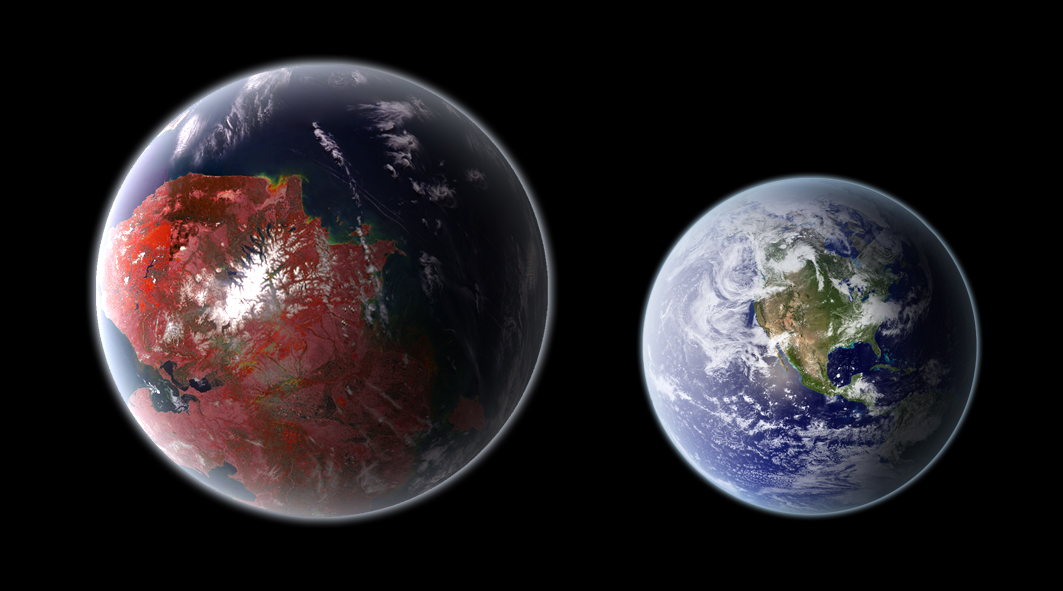 Earth-like biospheres on other planets may be rare