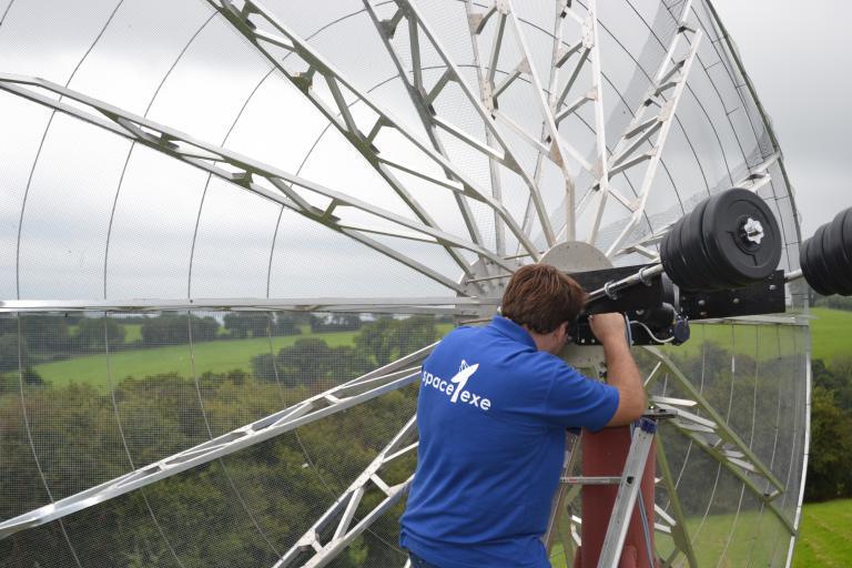 A DIY radio telescope