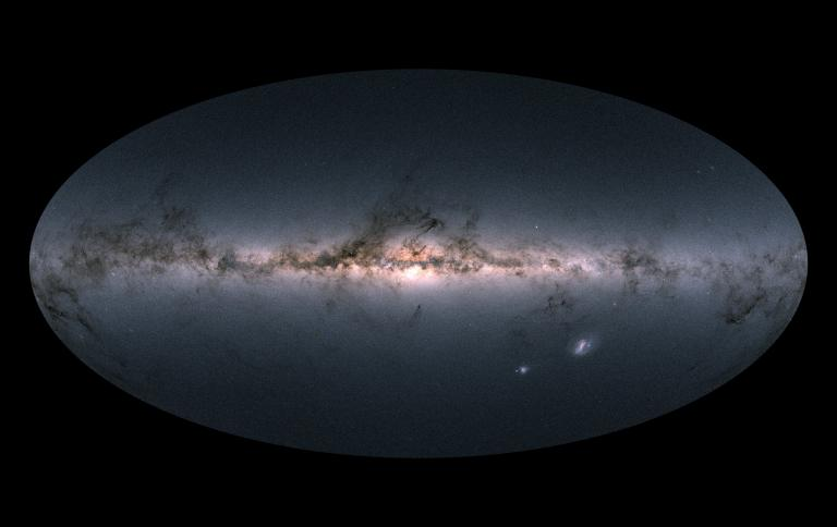 Gaia's three-dimensional sky