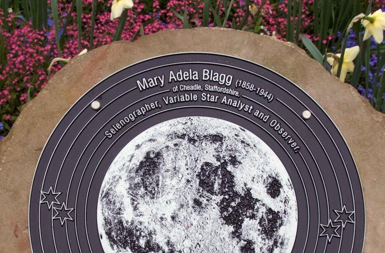 Unveiling the Mary Adela Blagg plaque