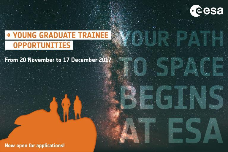 ESA is go for graduates