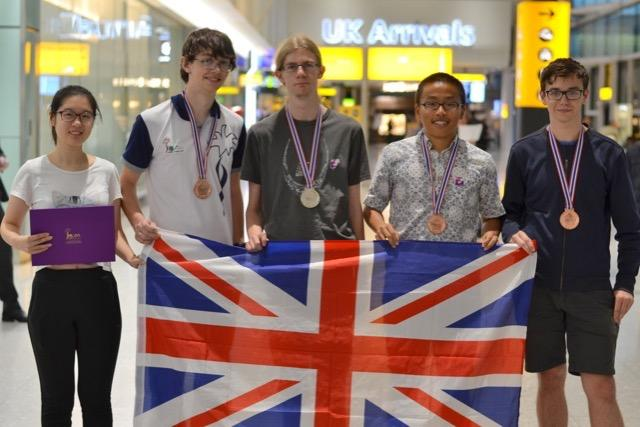 UK Olympiad success in Thailand