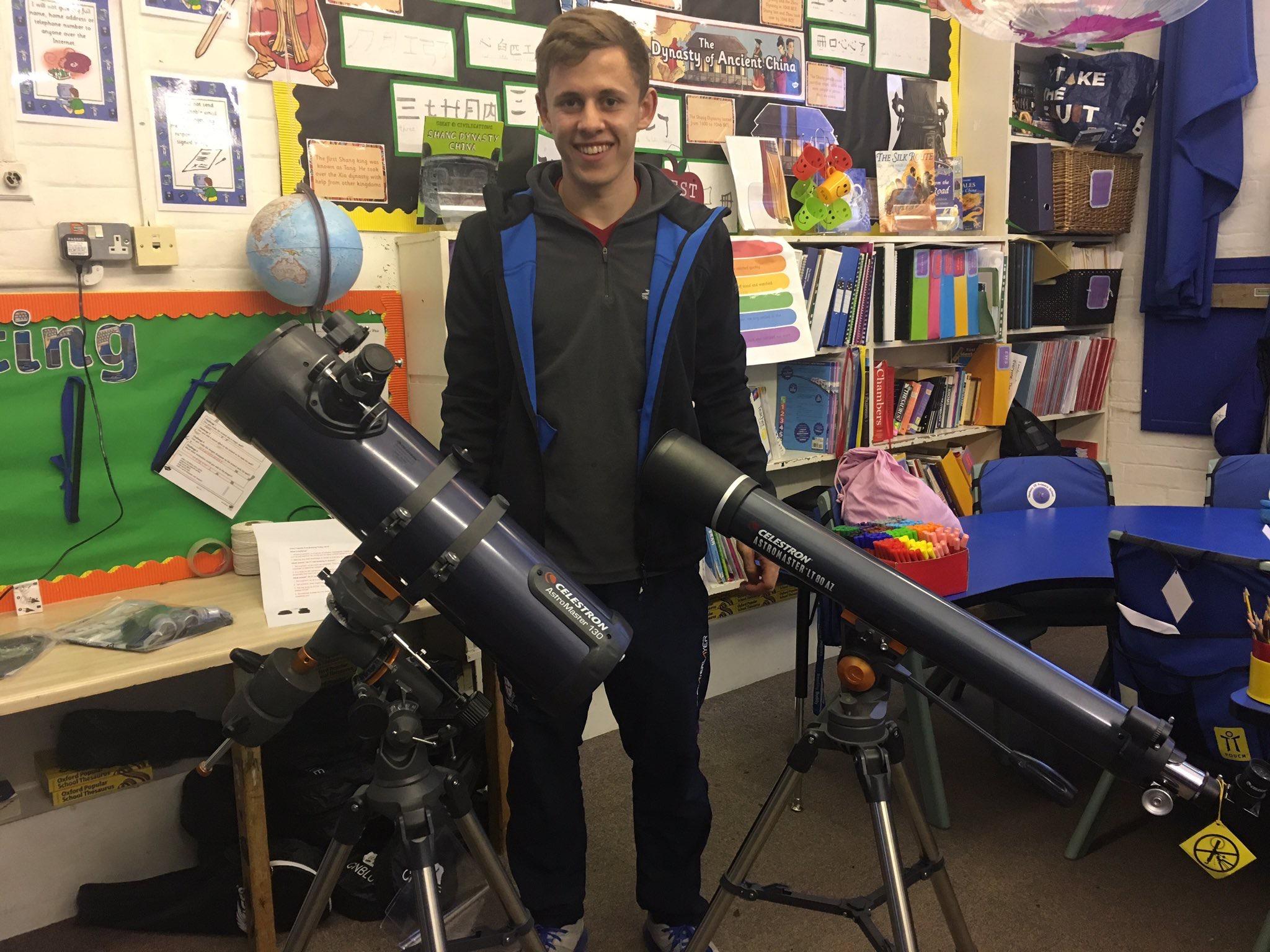 Charity Scopes4SEN provide free telescopes for SEN schools and