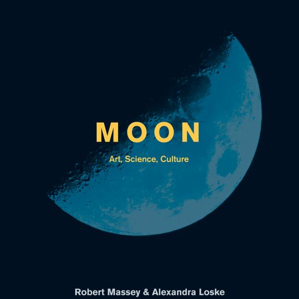 Moon: Art, Science, Culture (book cover)