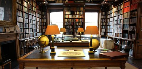 Inside the Royal Astronomical Society Library