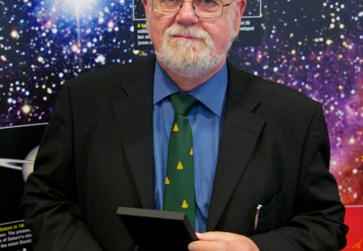 Professor John Campbell Brown receives the RAS Gold Medal