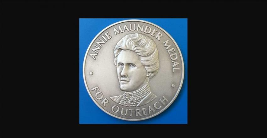 The Annie Maunder Medal