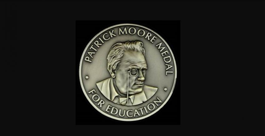 The Patrick Moore Medal for Education