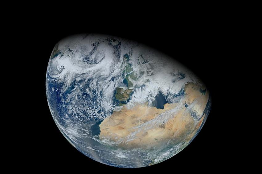 Earth from Suomi NPP satellite