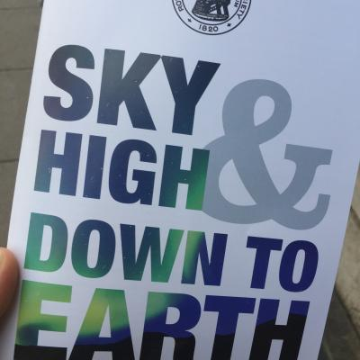 Front cover of the RAS careers booklet